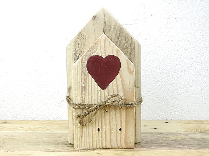 Holzhauser Deko By Kellerherz Shabby Chic Holzhaus Dekoration Aus