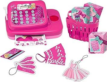 Barbie - Caja registradora Fashion (Lexibook RPB554): Amazon.es: Juguetes y juegos