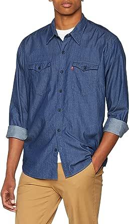 Levis Modern Barstow Western Camisa Vaquera para Hombre ...