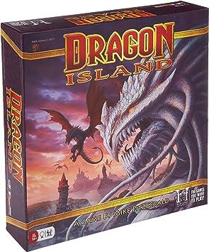 RnR Games Inc. RNR00350 Dragon Island Juegos de Mesa, Multicolor: Amazon.es: Juguetes y juegos