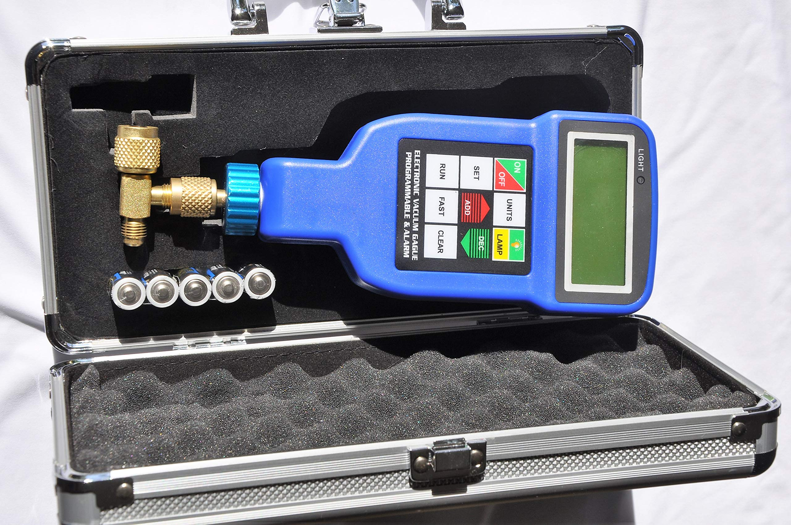 Deep Vacuum Micron Gauge/Digital Meter: AC HVAC Air Condition Refrigeration System Evacuation Optimum Test Tool, Most Accurate on The Market by VIOT (Image #5)
