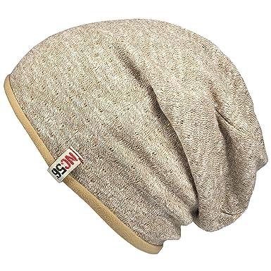 77bd89bc5f5282 NC56 - Herren & Damen - Unisex - Beanie Slouch Jersey Mütze Sackmütze -  9175587590 (