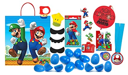 Amazon.com: Super Mario Brothers Niños toy-filled huevos de ...