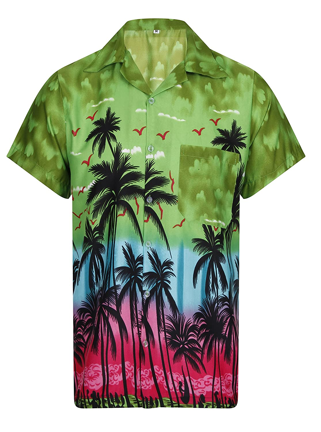 Casual Button-down Shirts Hawaiian Shirt Mens Short Sleeve Camper Van Party Aloha Beach Stag Factory Direct Selling Price