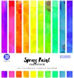 "ColorBok 75386 Spray Paint Cardstock Paper Pad 12"" x 12"""
