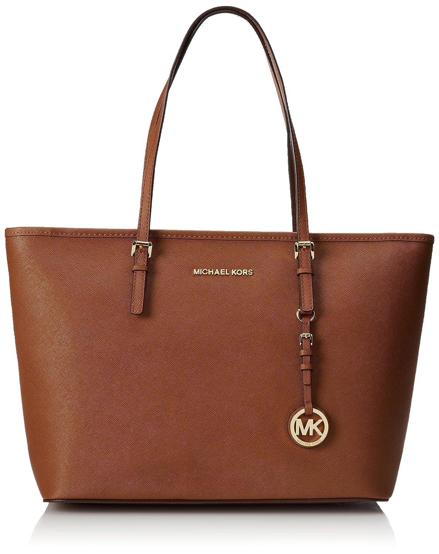 eb0fa93b7474 Michael Kors Women's Leather Handbag (30S4GTVT2L230_LUGGAGE): Amazon.in:  Shoes & Handbags