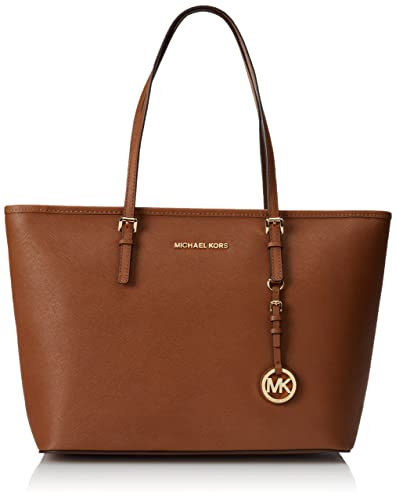 8deec0c0c9a0b Amazon.com  MICHAEL Michael Kors Women s Jet Set Travel TZ Tote ...