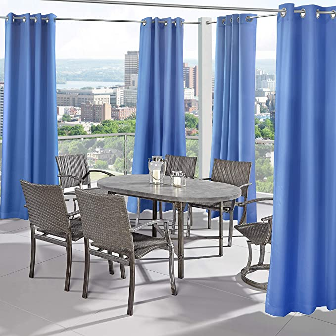 Amazon.com: Outdoor Decor Seascapes - Par de cortinas con ...