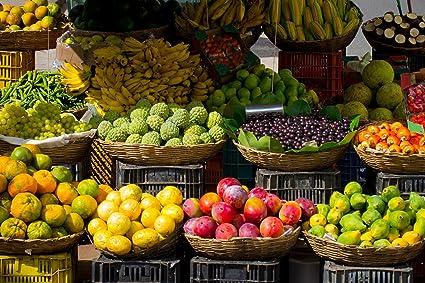Amazon Com Home Comforts Laminated Poster Farmers Market