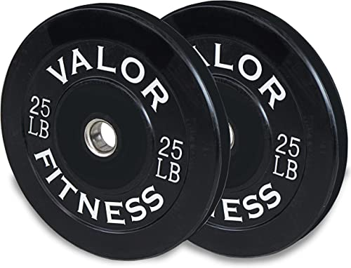 Valor Fitness BP Rubber Olympic Bumper Weight Plate
