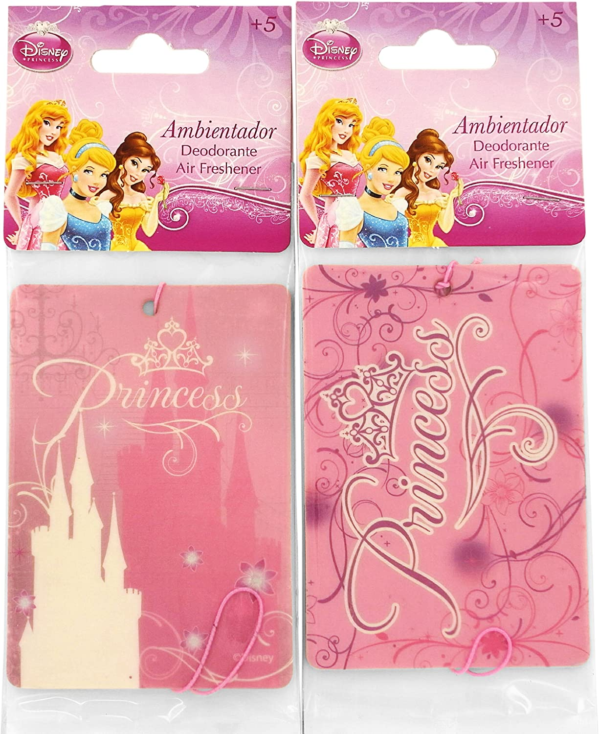Princesas Disney - Pack de 2 Desodorantes Coche Princesa: Amazon ...