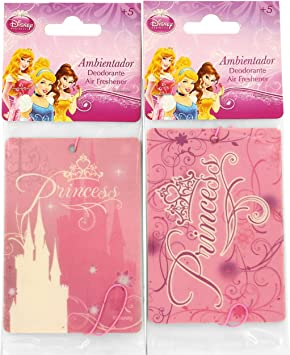 Princesas Disney - Pack de 2 Desodorantes Coche Princesa: Amazon.es: Juguetes y juegos