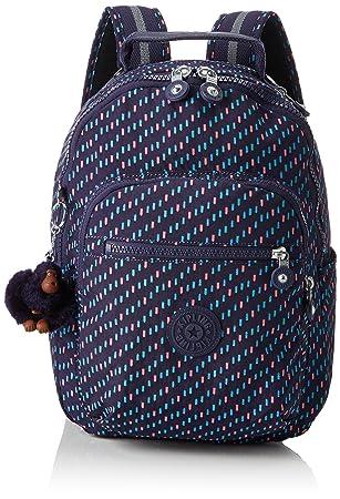 e7100a175 Kipling Seoul Go S Mochila infantil, 35 cm, 8 litros, Varios colores (Blue  Dash C): Amazon.es: Equipaje