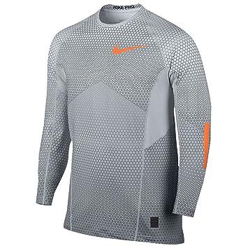 231266f17ec96 Nike Men's Pro Hyperwarm Long Sleeve Fitted Shirt Large Hexodrome ...