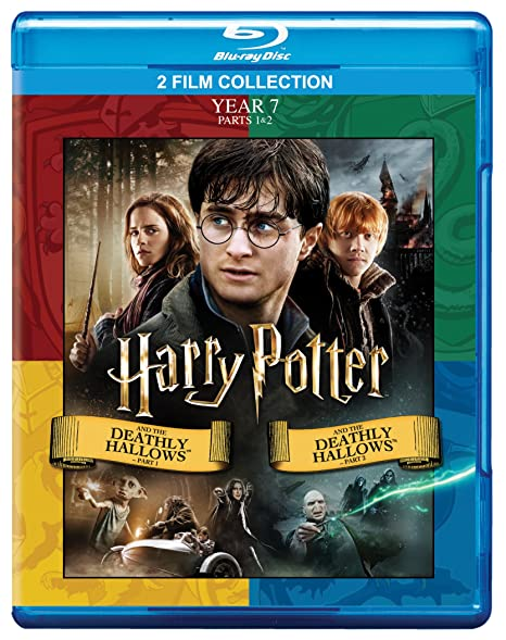Amazon In Buy Harry Potter And The Deathly Hallows Part 1 And 2 Year 7 2010 2011 2 Movies Collection 2 Disc Dvd Blu Ray Online At Best Prices In India Movies Tv Shows