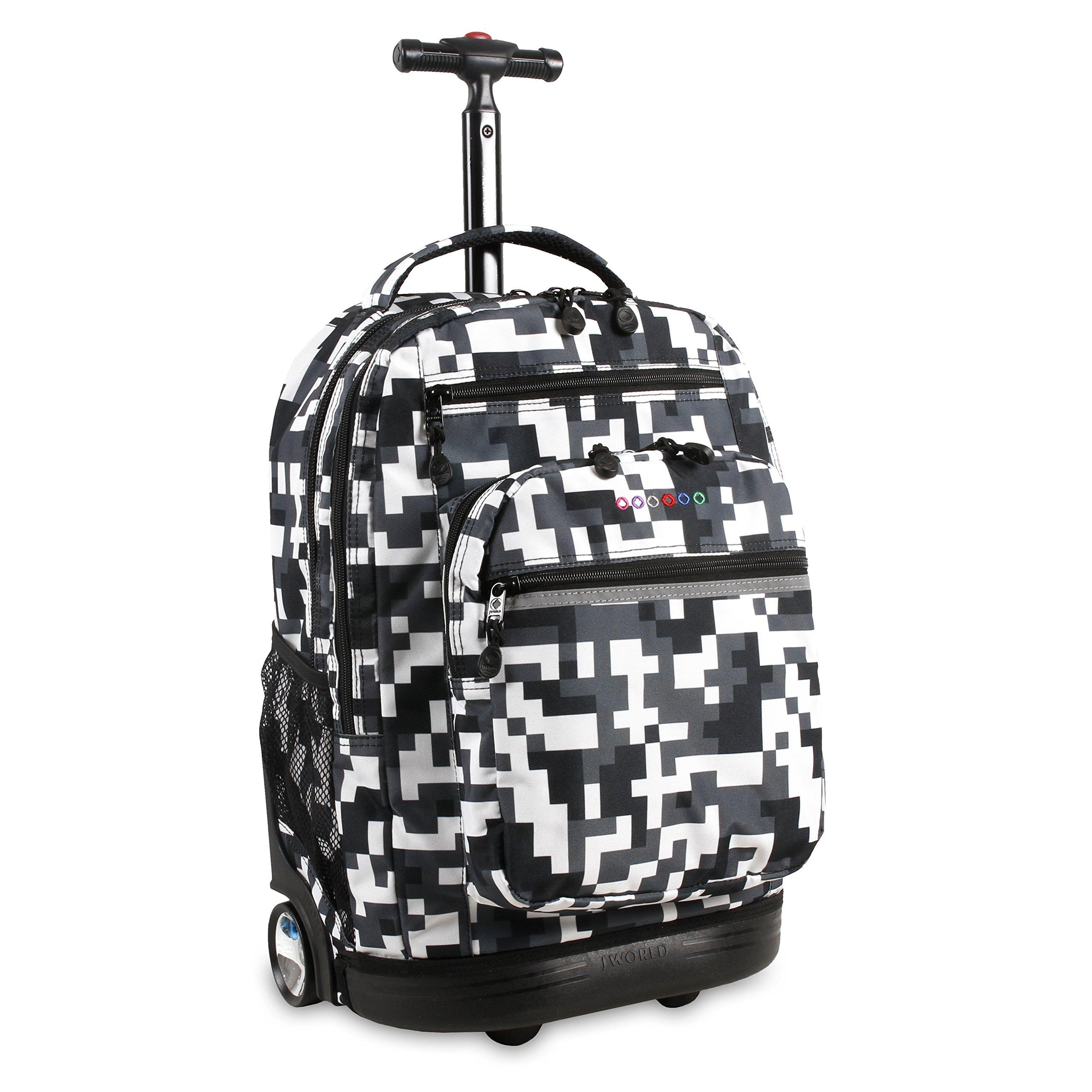 J World New York Sundance Laptop Rolling Backpack Backpack, CAMO by J World New York