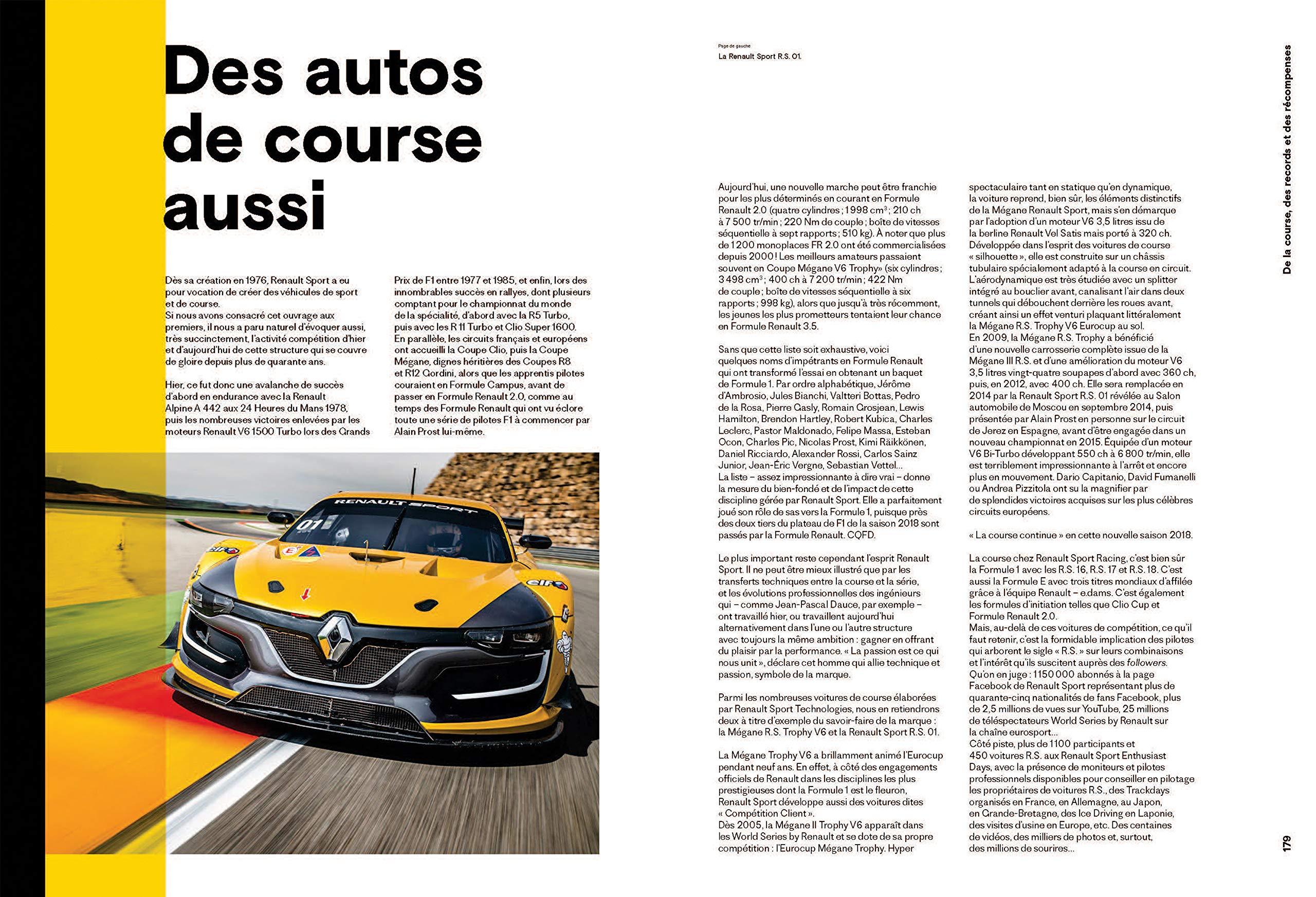 Renault sport - lesprit de la course au quotidien: Amazon.es: Fournier Jean-Luc: Libros en idiomas extranjeros