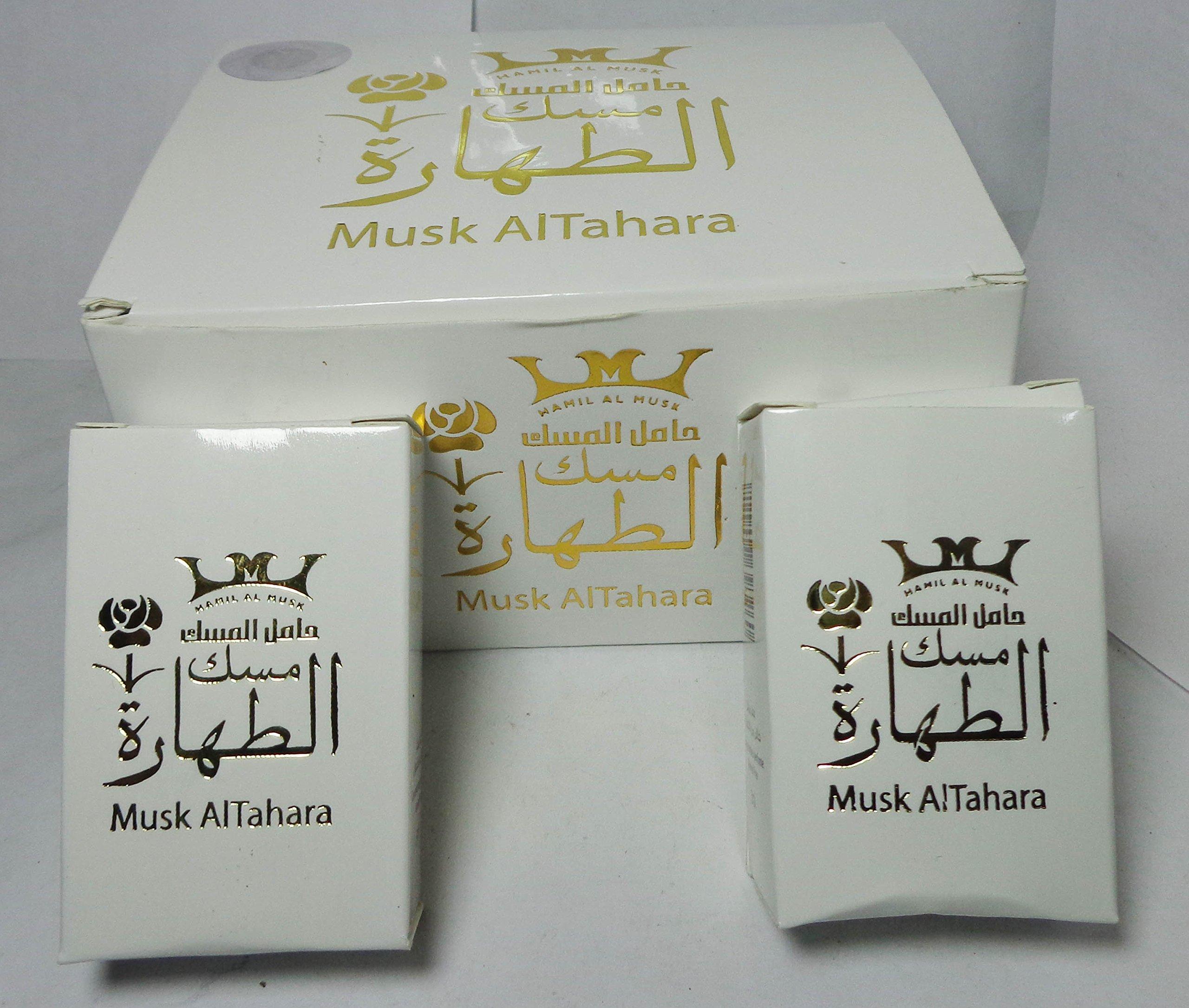 Pure Saudi Arabian Musk Al tahara Altahara Alcohol Free 5ml مسك أبيــض درجة أولى (12 Bottle = 60 ml) by bonballoon (Image #4)