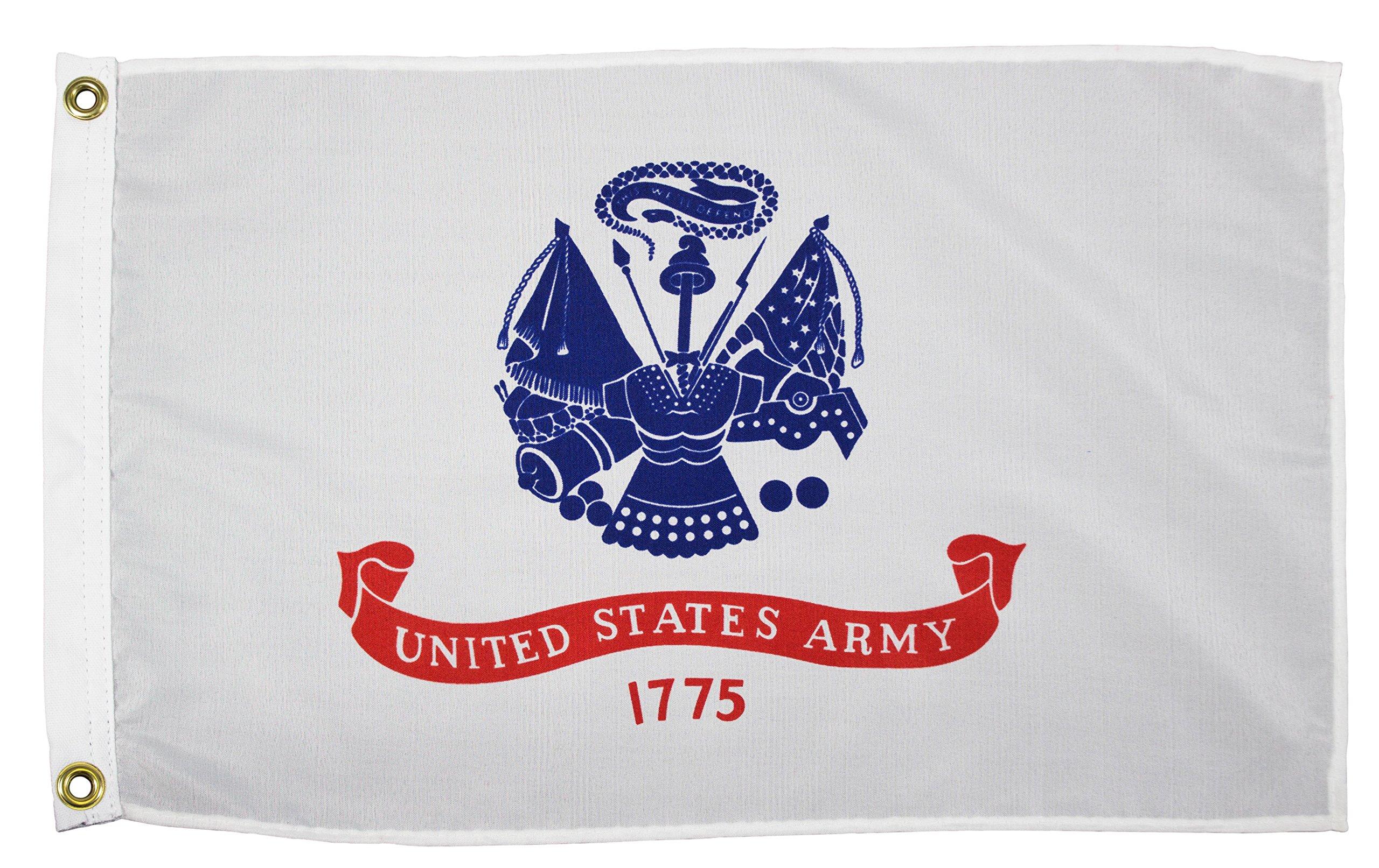 Military Army Unisex Army Military Flagarmy Military Flag, White, 3' x 5'