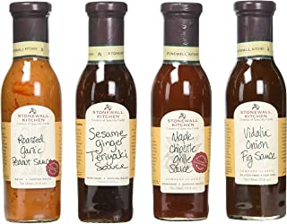 product image for Stonewall Kitchen 4 Piece Classic Grille Sauce Collection