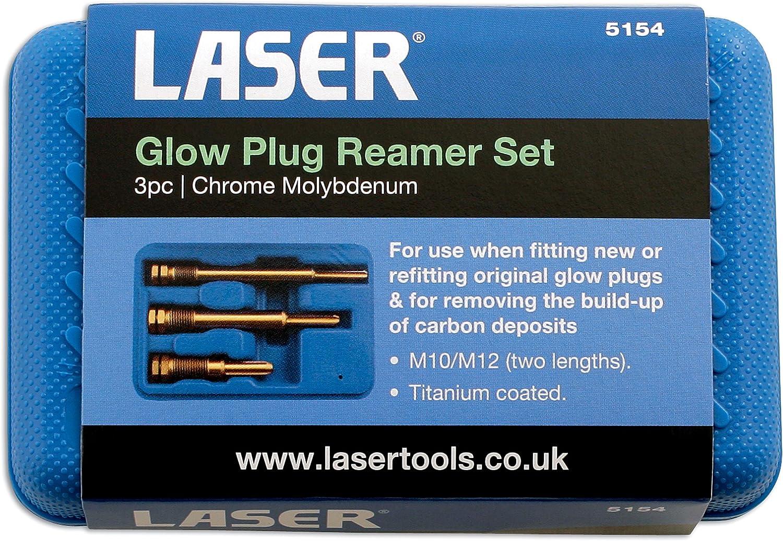3/Pezzi Laser 5154/Set Alesatore per candelette