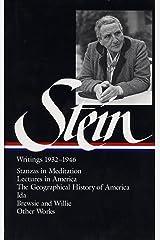 Stein: Writings 1932-1946 Hardcover
