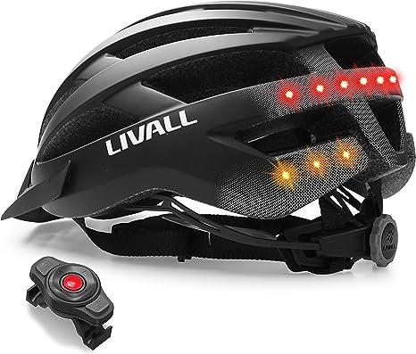 LIVALL Mt1 Musik, Rücklicht, Blinker, Navigation, Anruffunktion und SOS-System, Casco da Bicicletta.