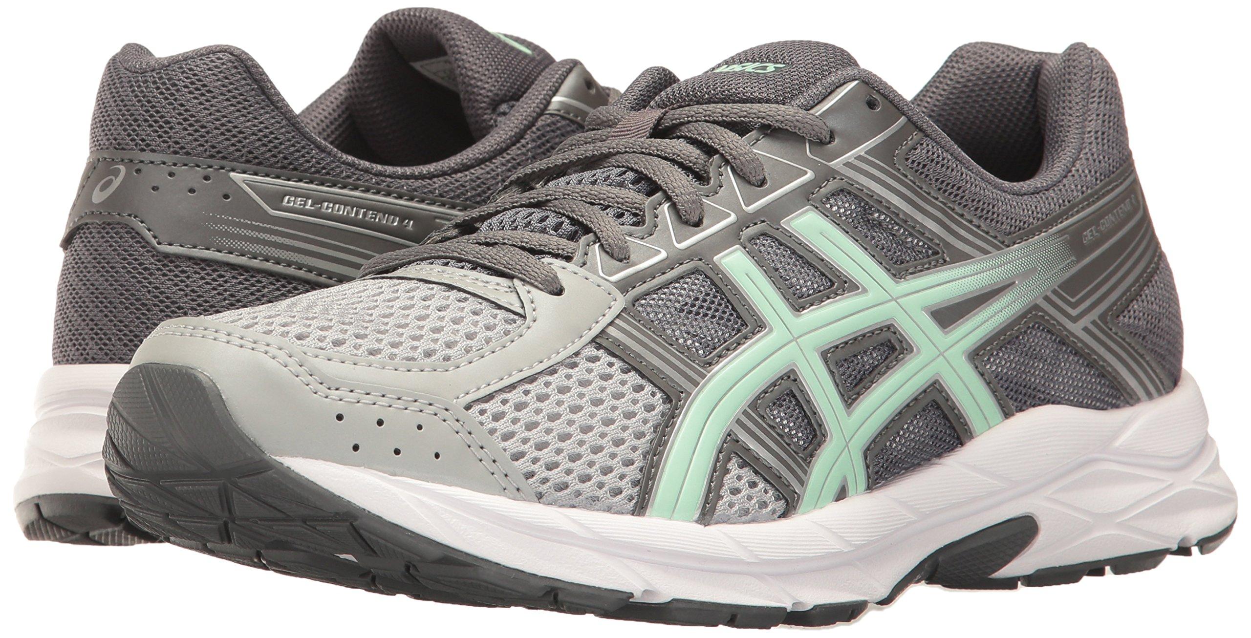ASICS Womens Gel-Contend 4 Running Shoe, Mid Grey/Glacier Sea/Silver, 5 Medium US by ASICS (Image #6)
