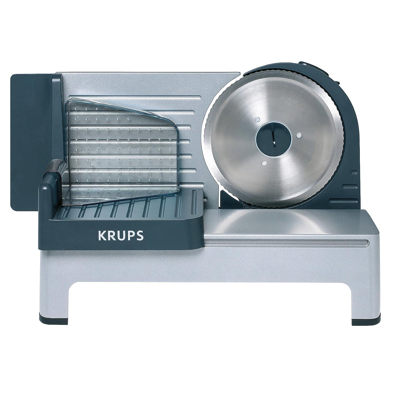 Krups Cortafiambres Aoste Plata Robot de cocina