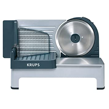 "Krups Aoste Profesional Cortafiambres, Cuchilla Universal ""Solingen"" de 19 cm de diámetro y"