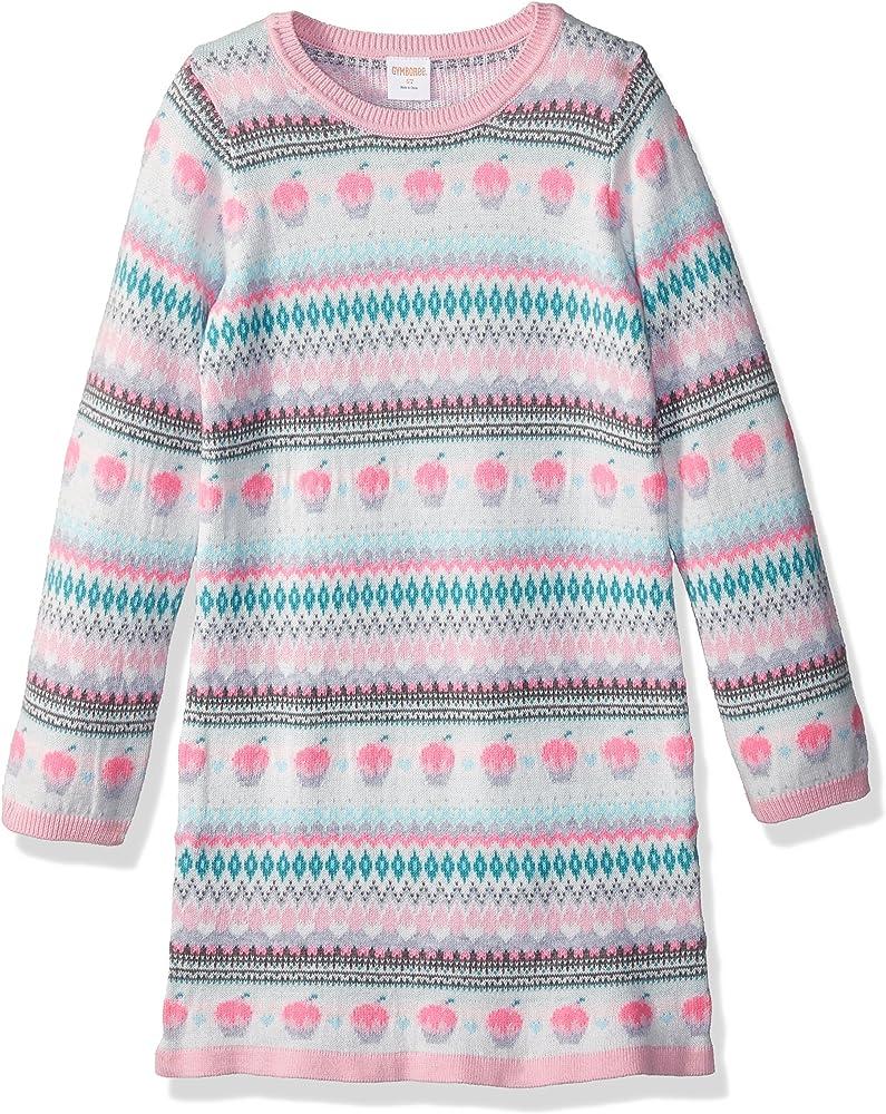 NWT GYMBOREE GIRLS SWEATER DRESS fair isle snowflake  you pick size