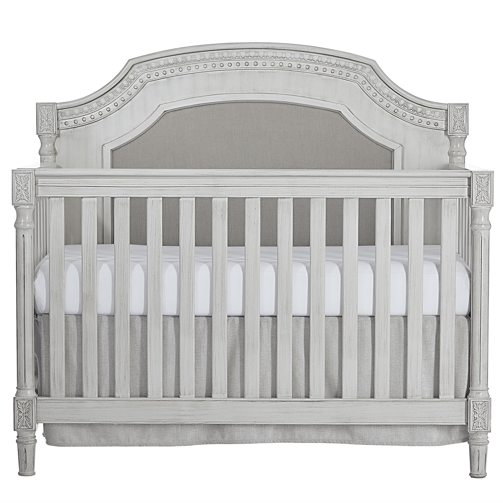 Evolur Julienne 5 in 1 Convertible Crib, Antique Grey Mist by Evolur