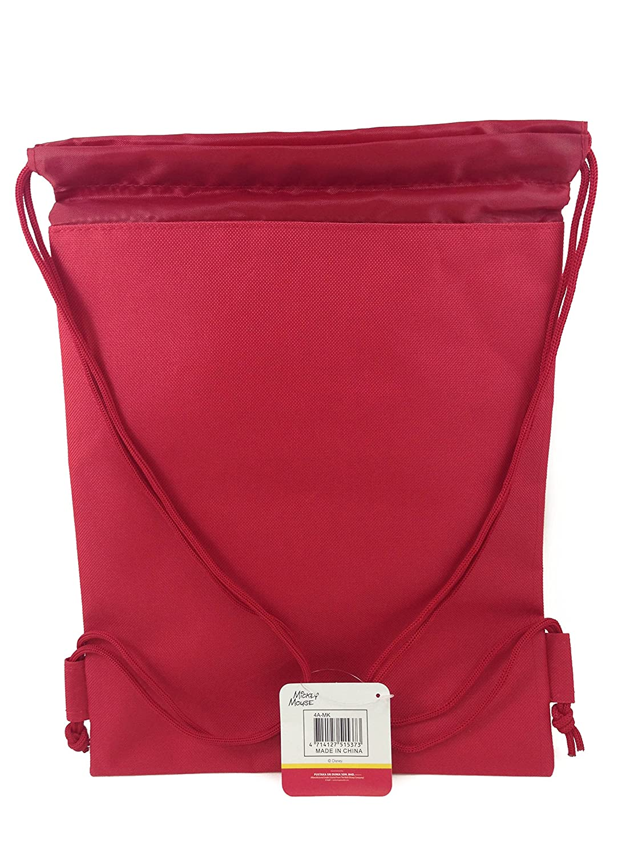 Disney Mickey /& Freinds Drawstring String Backpack School Sport Gym Tote Bag