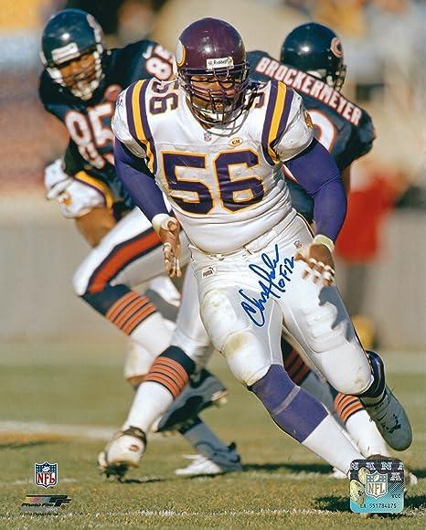 on sale dc6a7 443c0 Autographed Chris Doleman 8X10 Minnesota Vikings Photo at ...