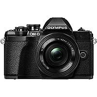 Olympus E-M10 Mark III Fotocamera con Obiettivo Pancake, Nero