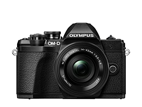 Olympus OM-D E-M10 Mark III - Cámara Evil de 16.1 MP (4k, FHD, LCD, Pantalla abatible, táctil, WiFi, 8.5 imágenes por Segundo, OLED) Negro - Kit con ...