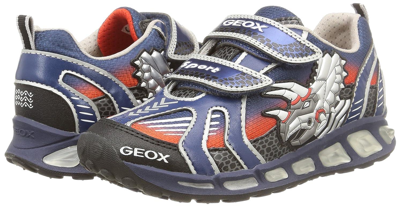 Geox Shuttle B A - Zapatillas para niños, Color Azul (c0673), Talla 33: Amazon.es: Zapatos y complementos