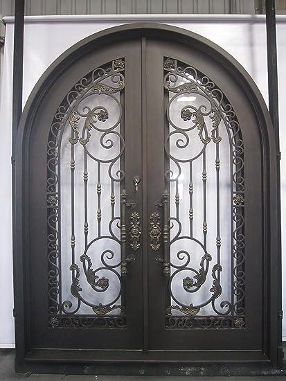 mcm3 acabado en bronce envejecido hierro forjado exterior puerta, 8.346.34 pies,