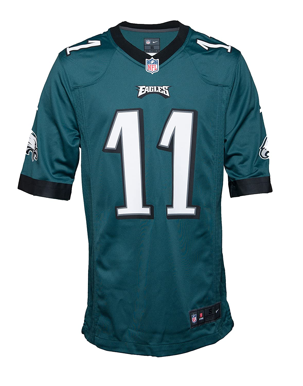 the best attitude 1636d 01c3e Amazon.com: NIKE Men's NFL Philadelphia Eagles Carson Wentz ...