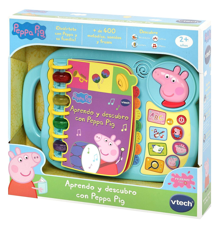 Peppa Pig Elektronisches Buch zum Lernen 3480-518022 Vtech Farbe