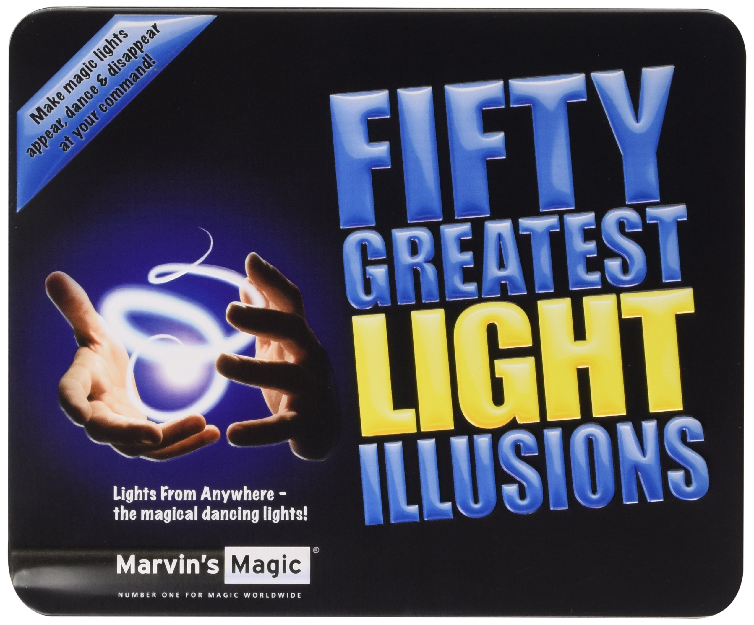 Marvin's Magic Fifty Greatest Light Illusions (Tins)
