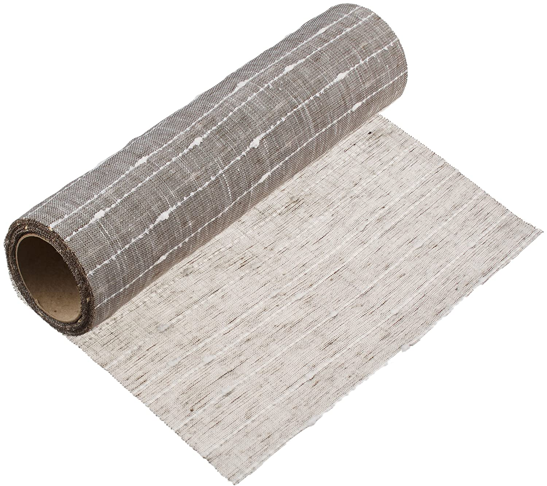 Halbach Silky Sashes 9462 300/4 ', Polyester, grey, 400 x 30 x 0 1