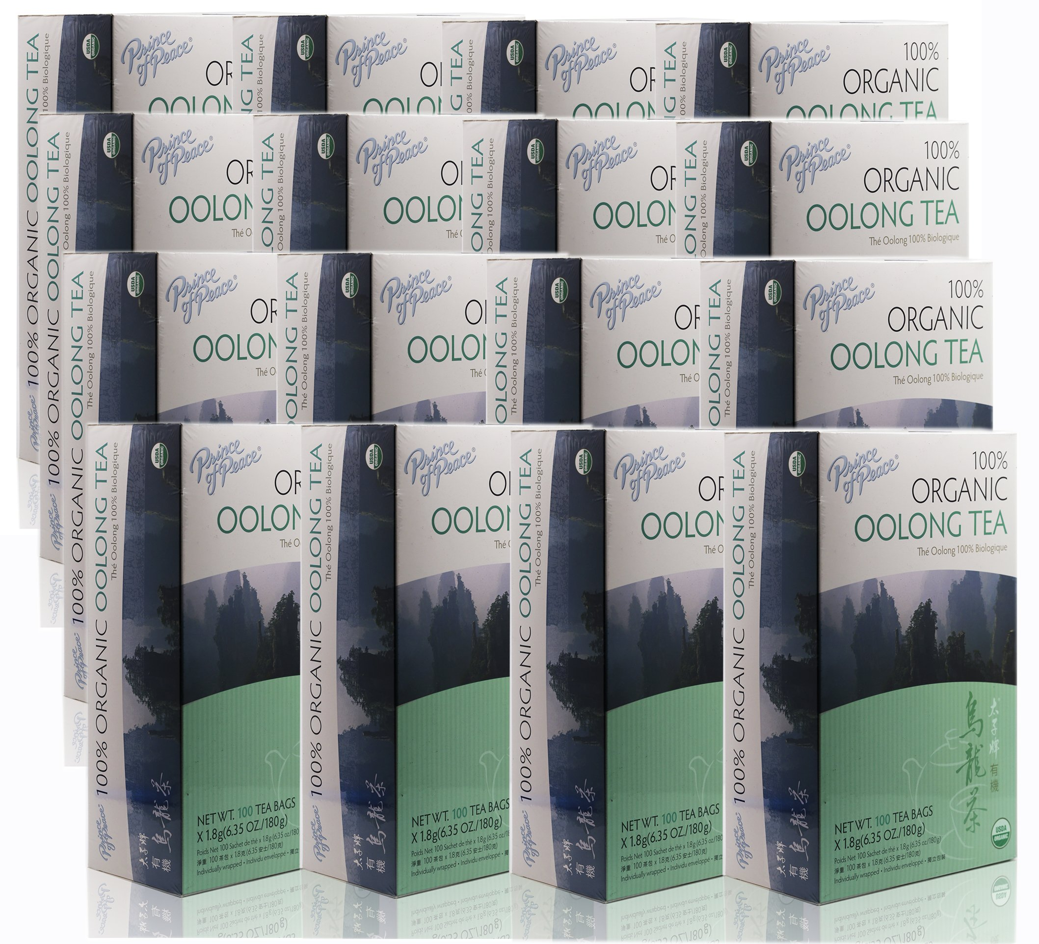 Prince Of Peace Organic Oolong Tea-100 Tea Bags net wt. 6.35oz (180g) (16)