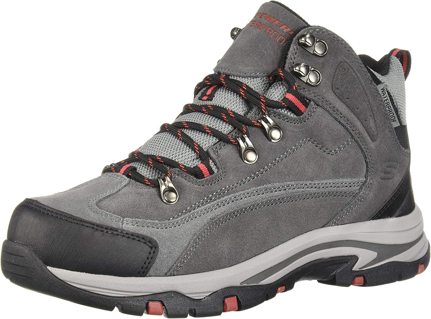 Skechers Men s Mid Suede Lace Up Boot Hiking