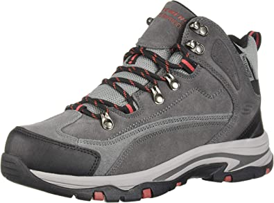 Mid Suede Lace Up Boot Hiking