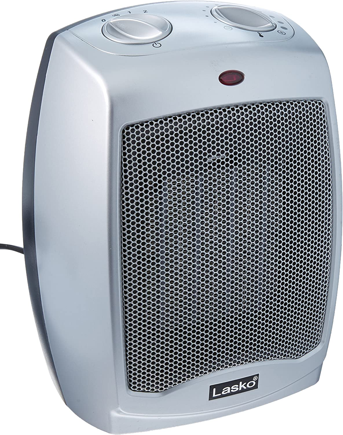 Amazon Com Lasko 754200 Ceramic Heater With Adjustable Thermostates Home Kitchen