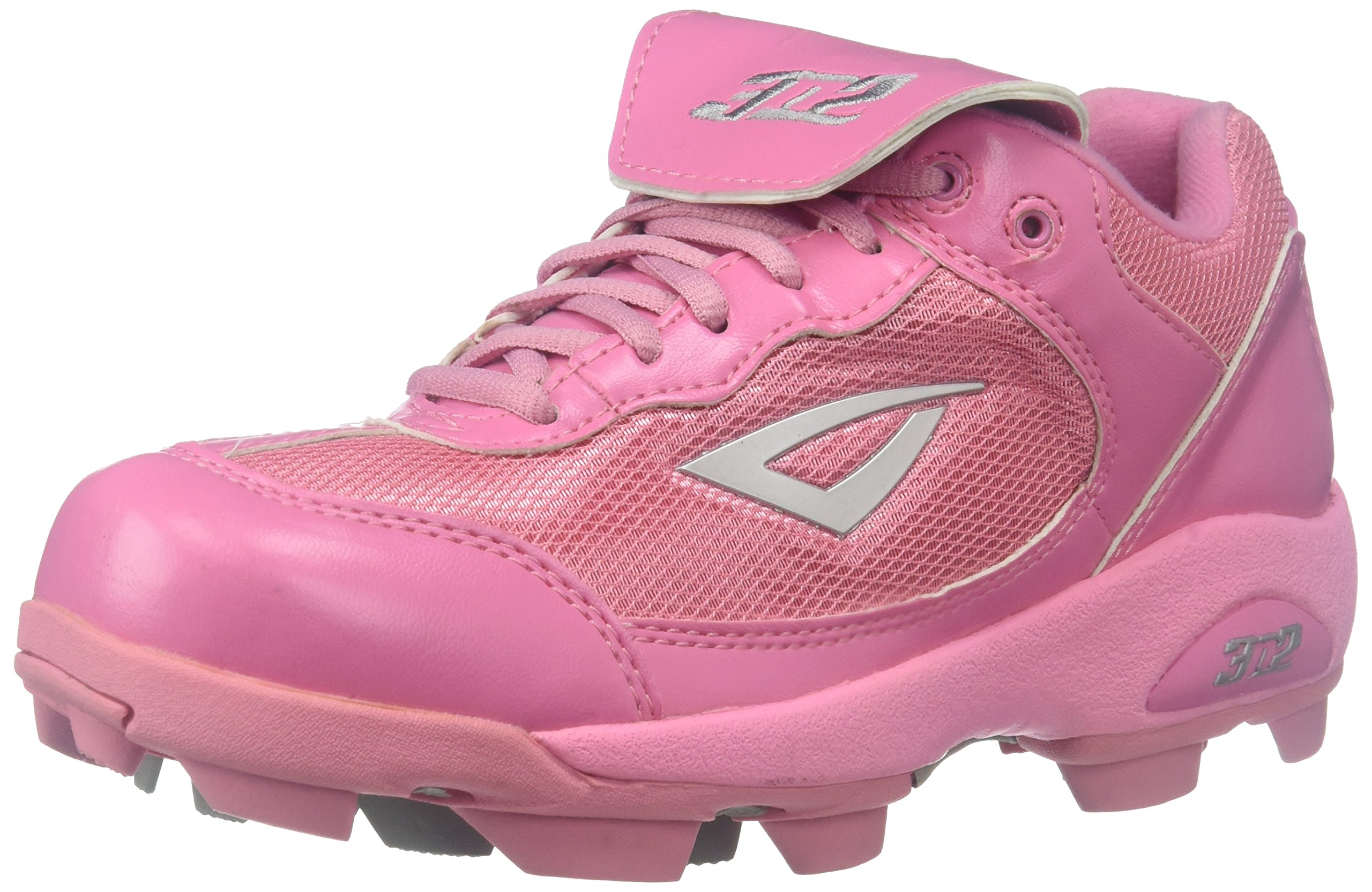3N2 Youth Rookie Shoes, Pink, Size 2.5 by 3N2