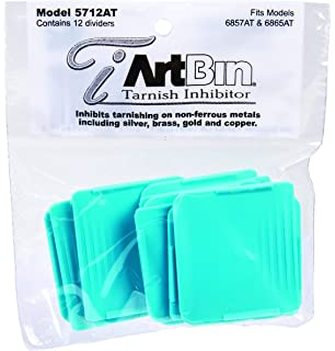 ArtBin Zerust Anti Tarnish Divider Packs  Fits 6857AT, 6865AT 12/Pk.