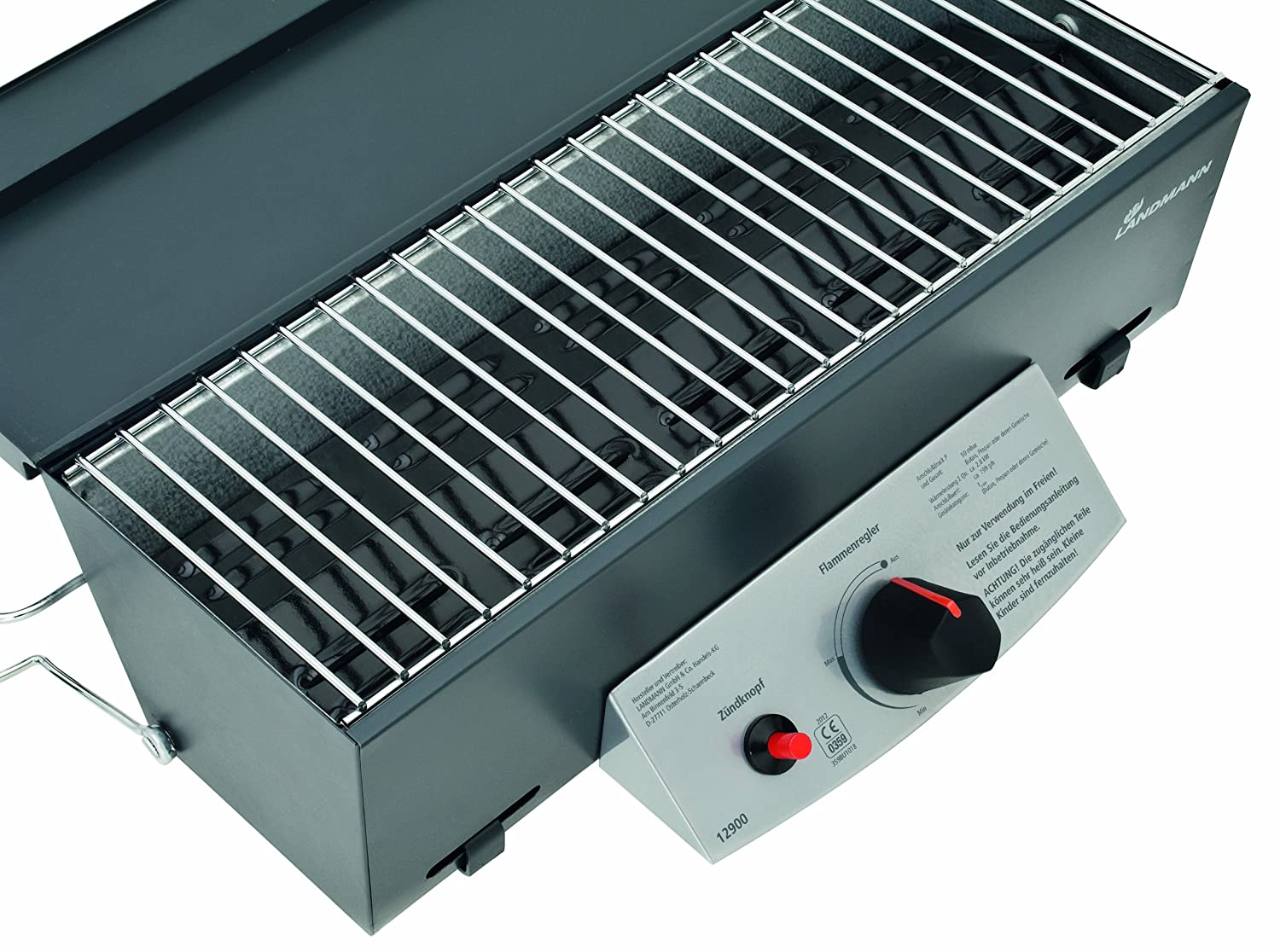 Landmann Gasgrill Mini : Landmann gas balkongrill silber  cm amazon