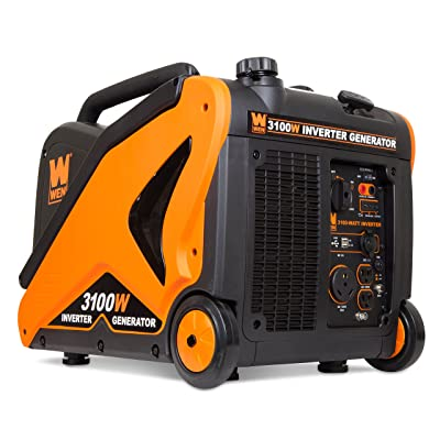 WEN 56310i-RV Super Quiet 3100-Watt RV-Ready Portable Inverter Generator
